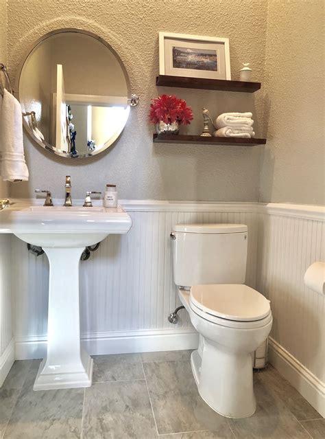 Half Bathroom Ideas For Small Bathrooms