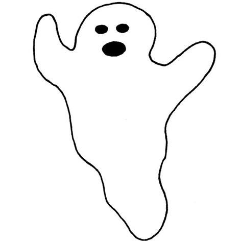 Halloween Geist Malvorlage
