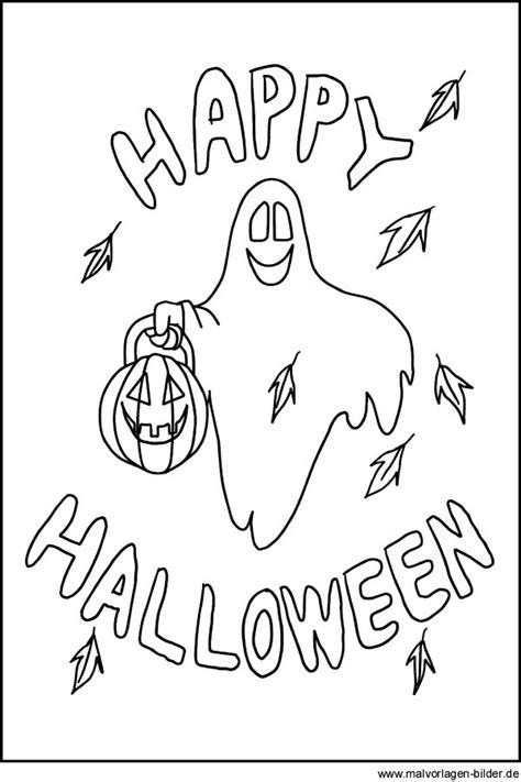 Halloween Malvorlagen Kostenlos Text