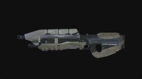 Halo 5 Assault Rifle Long Barrel