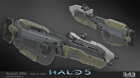 Halo 5 Assault Rifle Rail