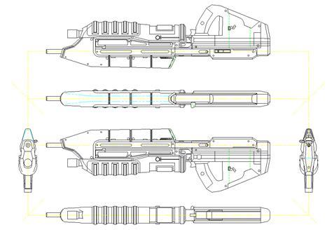 Halo Assault Rifle Plans