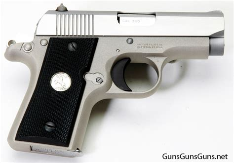 Handgun Review The Colt 380 Mustang Gungunsguns Net