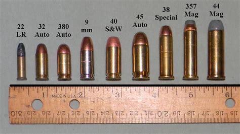 Handgun Calibers Between 9mm
