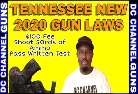 Handgun Carry Permit Laws Tennessee