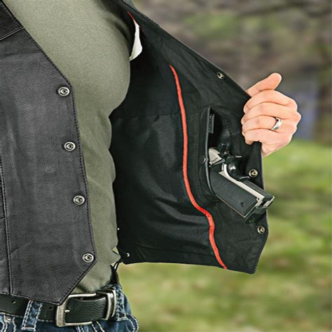 Handgun Concealment Vest