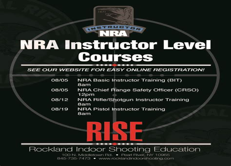 Handgun Instructor Certification