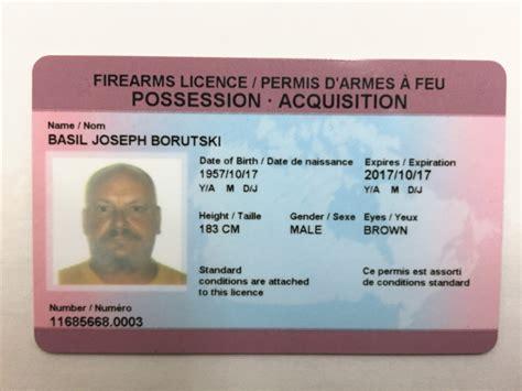 Handgun License Ontario