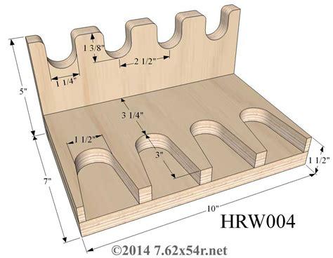 Handgun Rack Plans