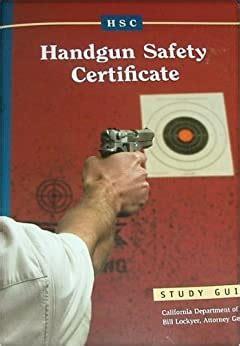 Handgun Safety Book