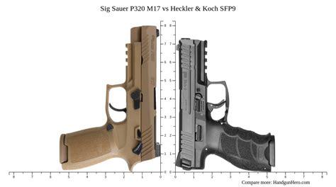 Handgun Sig Sauer Versus Heckler