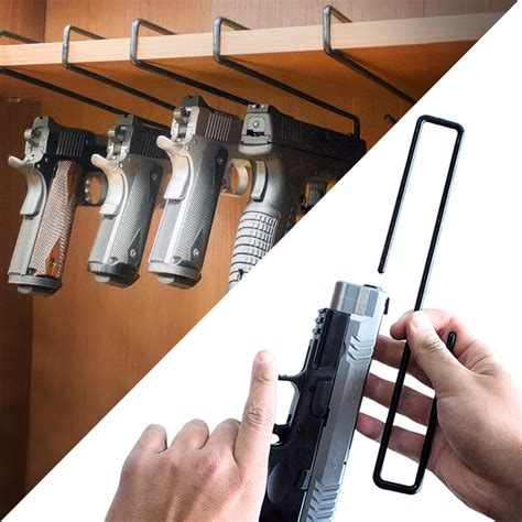 Handgun Storage Rack