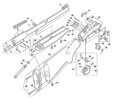 Handi Rifle Parts Schematic