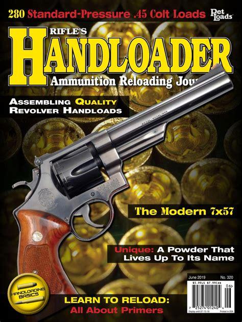 Handloader Magazine Get Your Digital Subscription