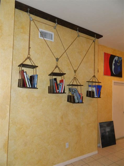 Hanging Bookshelf Interiors Inside Ideas Interiors design about Everything [magnanprojects.com]