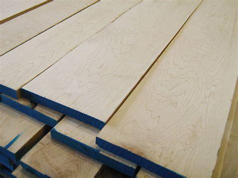 Hard maple lumber Image