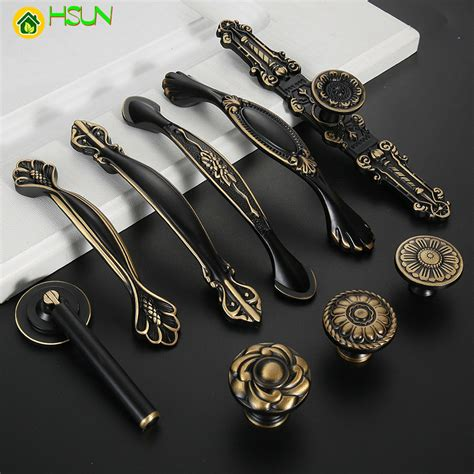 Hardware pulls and knobs cabinet Image