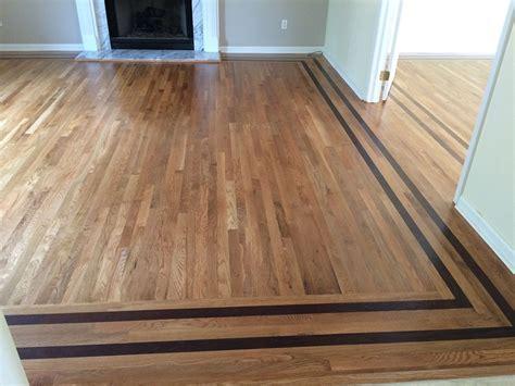 Hardwood Floor Borders Ideas