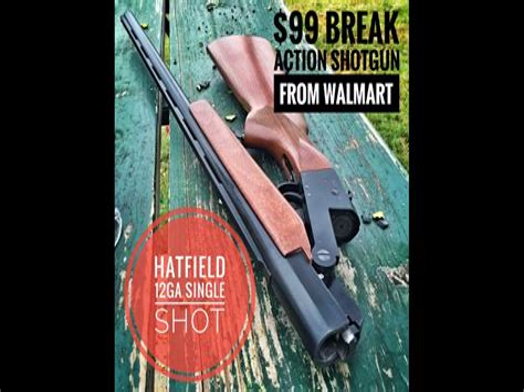 Hatfield 12 Gauge Single Shot Shotgun Walmart