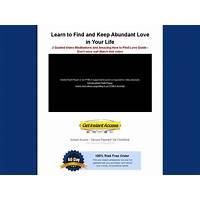 Best reviews of having abundant love 2 video meditations and guide pdf