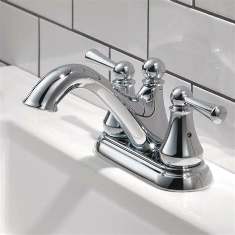 Haywood Centerset Bathroom Faucet with Optional Pop-Up Drain Assembly