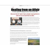 Healing from an affair: a cheater's guide for helping your spouse heal immediately