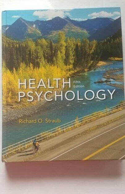 Health Psychology 5th Edition Straub Pdf