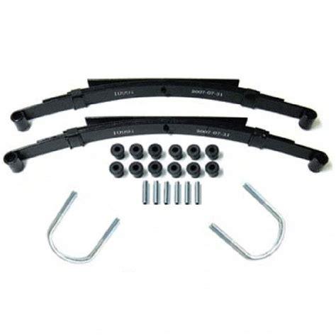 Heavy Duty Rear Leaf Spring Kit