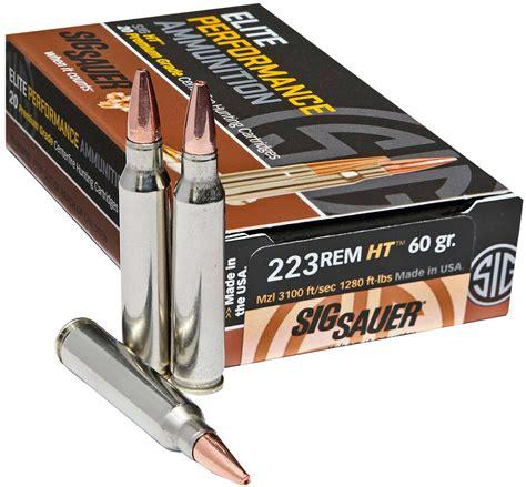 Heavy Grain 223 Hunting Ammo