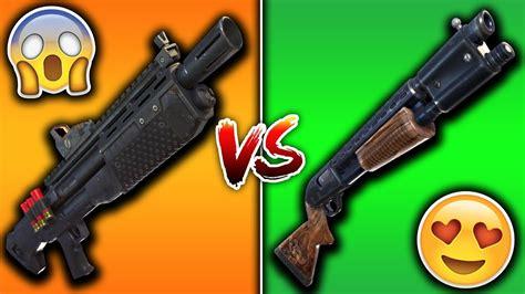 Heavy Shotgun Vs Blue Tactile