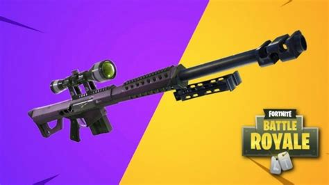 Heavy Sniper Rifle Fortnite Damage