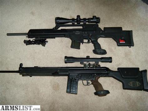 Heckler Koch 308 Sniper Rifle