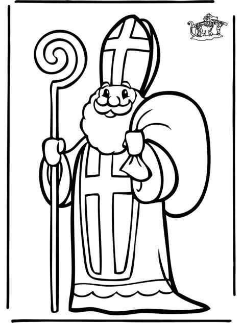 Heiliger Nikolaus Malvorlage