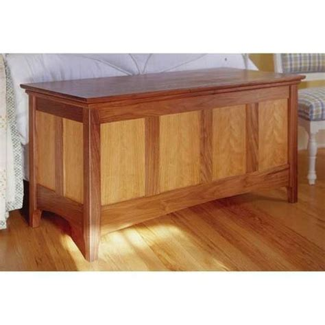 Heirloom hope chest woodworking plan Image