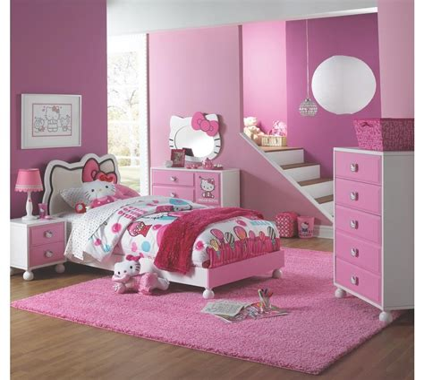 Hello Kitty Bedroom Set Design