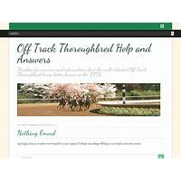 Help with off track thoroughbred horses for ottb owners work or scam?