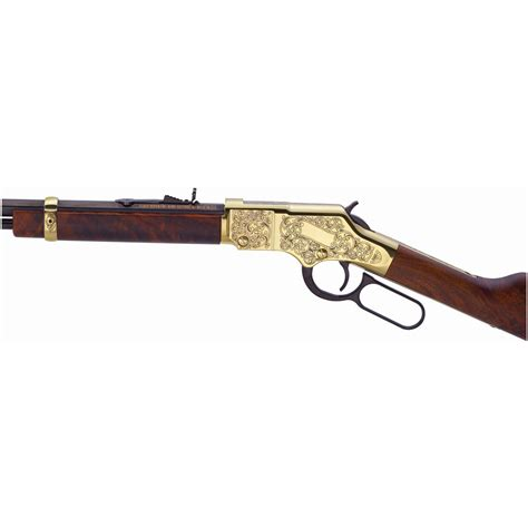 Henry 22 Lever Action Rifle Golden Boy