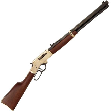 Henry 30-30 Win Brass Lever Action Rifle W Octagon Barrel