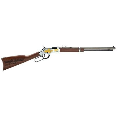 Henry Repeating Arms Octagon Lever 20in 22 Lr Blue 15 1rd