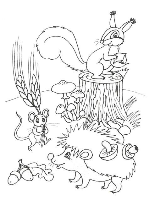 Herbst Ausmalbilder Zum Ausdrucken
