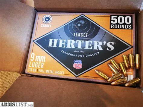 Herter S 9mm Brass Ammo Review