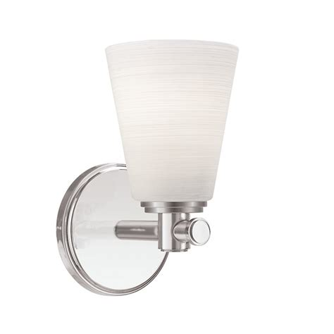 Hesser 1-Light Bath Sconce