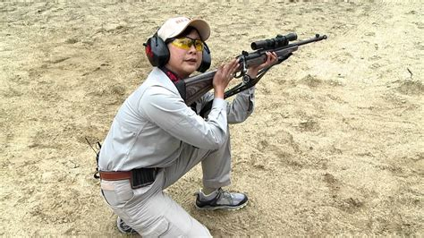 Hickok Shooting The Ruger Gun Site Rifle Youtube