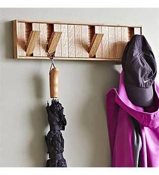 Hidden Hook Coat Rack Plans