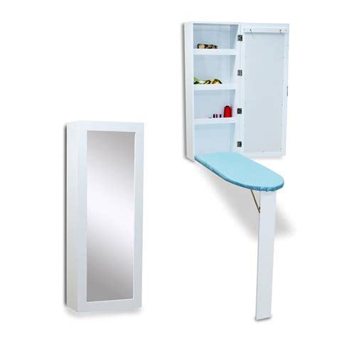 Hide away ironing board cabinet Image