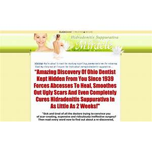 Hidradenitis suppurativa miracle the guaranteed hs cure promo