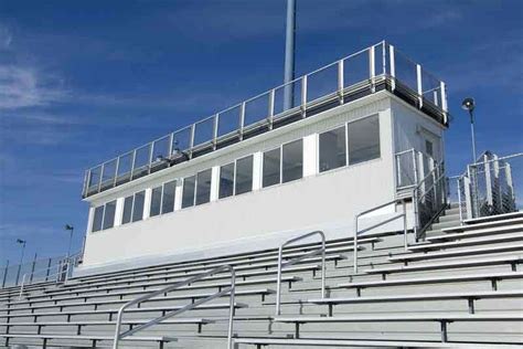 high school football press box design