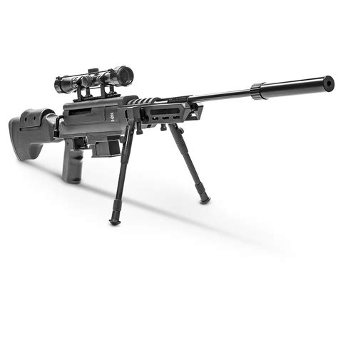 High Powered 22 Caliper Pellet Rifle With Scope