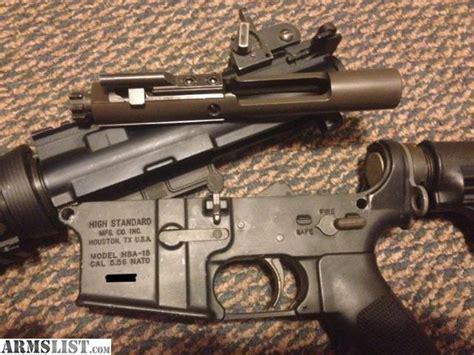 HIGH STANDARD AR-15 Barrel Nut Steel Black - Brownells UK