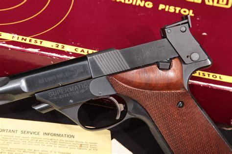High Standard Auto Pistols Supermatic Citation Series 106